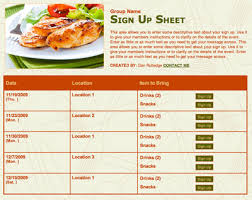 Potluck Sign Up Potluck Planning Made Easy