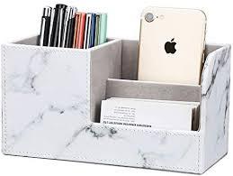 Wooden Pencil <b>Box Pen Holder</b> Home Office Desk Organizer L ...