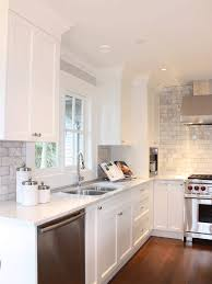 For New Kitchens White Kitchen Cabinets Grey Tile Back Splash Lots Of Great