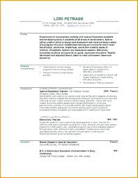 Resume Examples For Teachers With Experience Awesome Physical Education Teacher Resume Examples Of On Example Special R