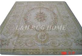 free french style carpets hand knotted rugs woolen antique