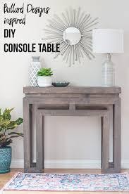 ballard designs inspired console table