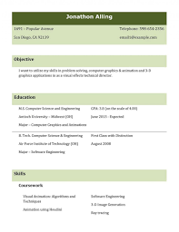 Types Of Resume Examples Resumes Different Templates Format Pdf