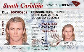 Ids Drivers Scannable sc Best Licence- Id Fake Carolina - Old South Idviking
