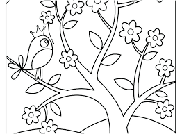 Coloring Inspirational Preschool Spring Pages Or Free Nice Printable