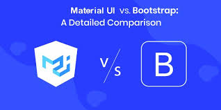 bootstrap vs material ui which is