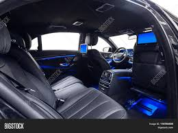 Car Back Seat Light Car Interior Luxury Image Photo Free Trial Bigstock