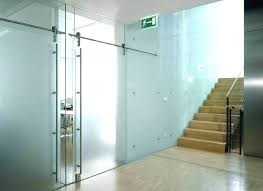 indoor sliding glass doors sliding glass office doors frosted sliding interior door glass wall systems gallery