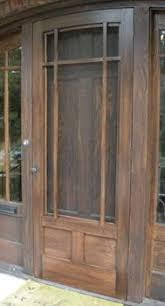 wooden front door with storm door. Brilliant Door Coppa Woodworking Wood Screen Doors And Storm  Customer Photo  Gallery  Screen Doors Pinterest Storm Doors  In Wooden Front Door With E