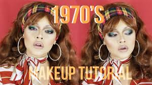 1970 s inspired makeup tutorial