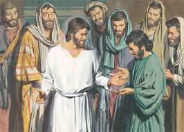 Resultado de imagen de El resucitado con los apóstoles