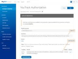 paypal auth registration