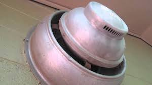Old Commercial Wall Mount Exhaust Fans Youtube
