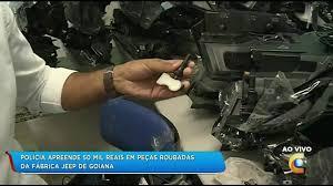 Resultado de imagem para Polícia: PCPE apreende R$ 50 mil em peças roubadas da fábrica da JEEP, em Goiana