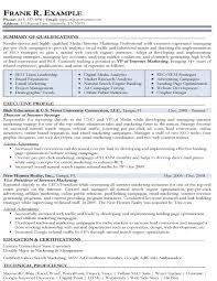 Email Marketing Resume Examples Best of Internet Marketing Resume Templates Dadajius