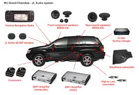 jeep grand cherokee wj jl audio system installation jl audio system