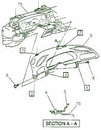 pontiac firebird instrument panel fuse box diagram circuit 1997 pontiac firebird instrument panel fuse box diagram