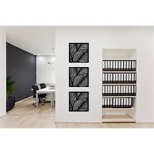 matrix 575mm x 575mm charcoal fronds