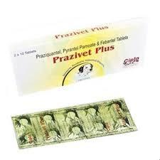 Prazivet Plus Deworming Tablet For Dog