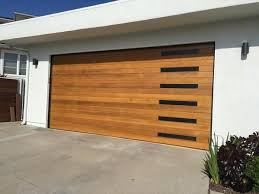 cedar garage doors. Emilio - Modern Style Custom Wood Garage Door Cedar Doors