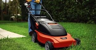 electric lawn mower motor. best electric lawn mower reviews featured motor u