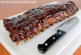 baked barbecue ribs for the love of