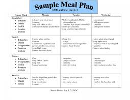 Diabetes Meal Planning Pdf 10 Efficient Sample Diabetic Meal Plan