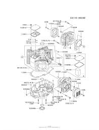 Kawasaki fh661v bs05 4 stroke engine fh661v parts diagram for