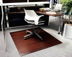 desk chairs best office chair mats for hardwood floors bamboo floor costco mat natural dark cherry finish rolled rug eas