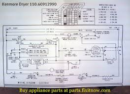 appliantology photo keywords dryer Kenmore Dryer Wiring Schematic kenmore dryer 110 60912990 schematic kenmore dryer wiring schematic diagrams
