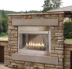 42 outdoor contemporary gas fireplace