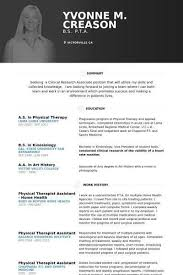 Resume For Physical Therapist Sample Physical Therapy Resume Sample Sample Physical