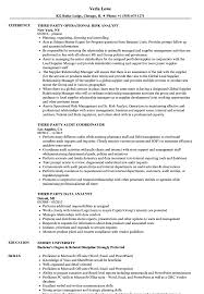 Powerpoint Resume Sample Third Party Resume Samples Velvet Jobs 23