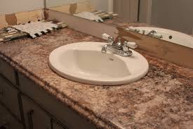 Decor Awesome Impressive Brown Granite Countertop And Charming