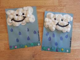 Kids Craft April Showers Bring May Flowers That Is What They Say Rainy Day