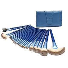 pare s on blue makeup brush set ping low