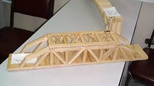 Popsicle Stick Bridge Designs Digital Structures Two Popsicle Stick Bridges From Dlsu
