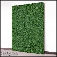 green wall artificial
