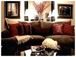 Brown And Red Living Room Ideas Unique Design Inspiration