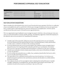 review examples for employees performance appraisal self evaluation business tools