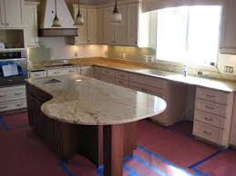 Colonial Gold Granite Kitchen Cutting Edge Granite Kitchen Modern Kitchen