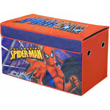 Toy storage trunk Cedar Chest Marvel Spiderman Oversized Soft Collapsible Storage Toy Trunk Walmartcom Walmart Marvel Spiderman Oversized Soft Collapsible Storage Toy Trunk