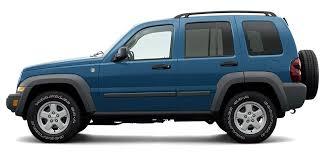 2006 Jeep Liberty Tire Size Chart 2006 Jeep Liberty