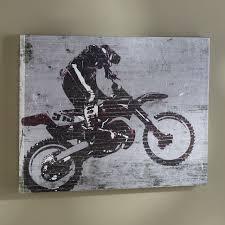 dirt bike wall art 42 best jacob and calebs room images on pinterest on dirt bike wall art with dirt bike wall art jazz arts