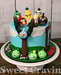 Cool Homemade Angry Birds Cake