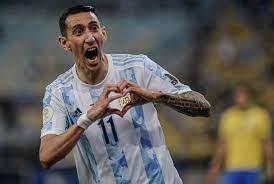 """دي ماريا """"بطل الظل"""" مع الأرجنتين بعد هدف التتويج بلقب كوبا أمريكا - اليوم  السابع"""
