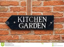 Kitchen Gardener Kitchen Garden Stock Image Image 24903961