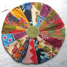 Models Ethnic Floor Cushions Large Round Cushion Pillow Seating Bohemian Patchwork On Simple Ideas