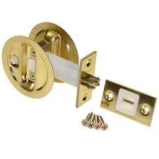 picture of auto latching pocket door locks