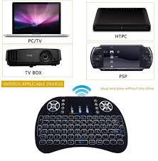 Mini Handheld Keyboard + Mouse - built battery - Suitable for Smart TV / Android  Box / PS4 / Xbox / Windows 10/7/8 / XP / Vista - Keyboard - Laptop / Tablet  / Notebook